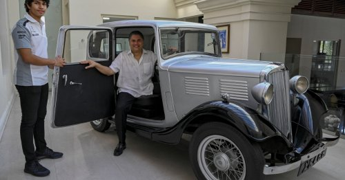 Prince Philip's car is now a Sri Lankan royal artefact