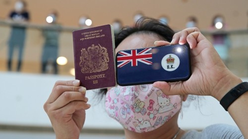 China will 'no longer recognise' UK passport for Hong Kong people