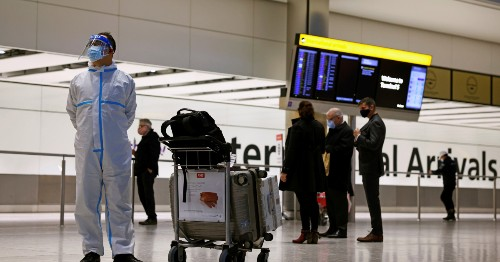 Travellers to UK from high-risk COVID-19 countries to quarantine