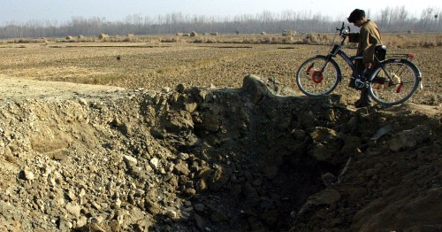 'A ghost that haunts': Living with landmines in Kashmir