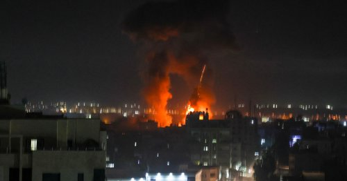 Israeli air raids target Gaza Strip for second time since truce