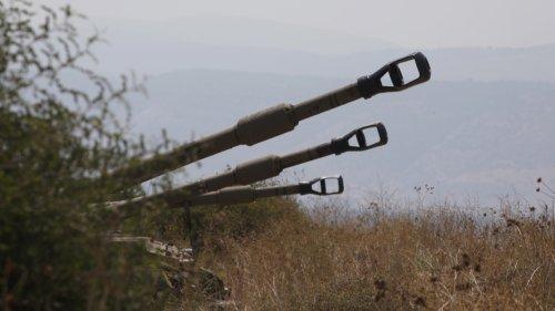 Israeli artillery shells Lebanon after rockets fired over border