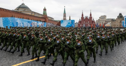 Putin vows to defend 'Russian interests' on WWII Victory Day