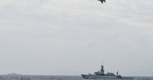 Indonesia adds patrols after detecting ships in South China Sea