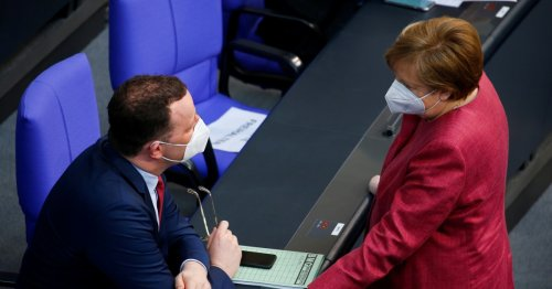 Germany's Merkel pushes for widening of powers as COVID surges