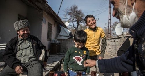 The Uighur and Syrian refugees making a home together in Turkey