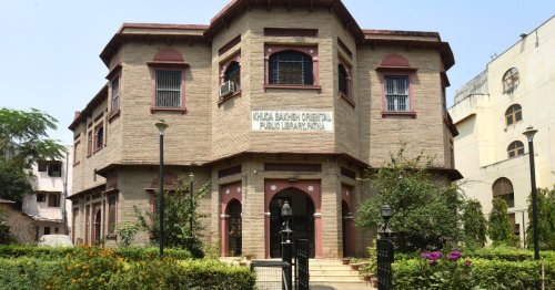 Anger over plan to raze part of iconic Indian library for flyover