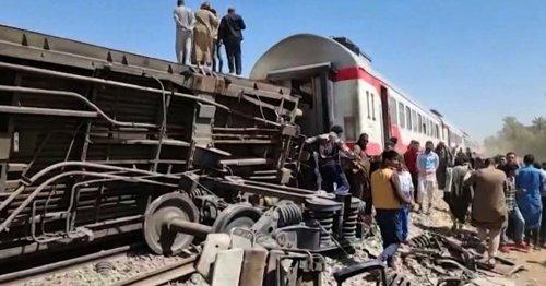 Egyptian prosecutors find gross negligence behind train crash