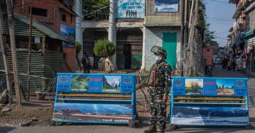 Civilian shot dead in Kashmir as India's home minister visits