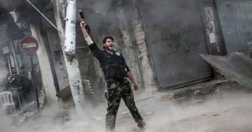 Photographing Ali, Aleppo, and the 'mother of all battles'