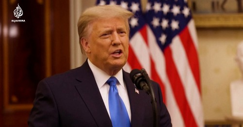 Donald Trump's farewell falsehoods: Fact check
