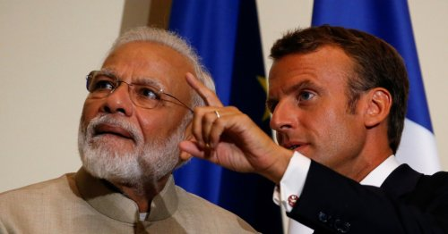 Macron and Modi vow to 'act jointly' after submarine dispute