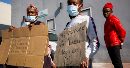 Jobless, hungry, fed-up: Why South Africans rioted