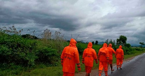 Heavy rains as Cyclone Gulab makes landfall in India