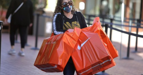 Boom! US retail sales spike, jobless claims drop to one-year low