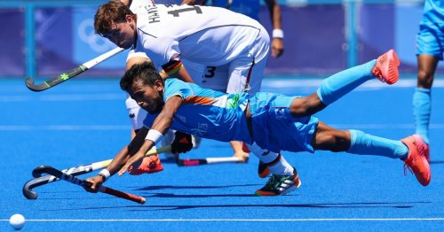 India beat Germany for 1st men's Olympic hockey medal in 41 years