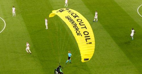 Euro 2020 paraglider protest leaves several injured