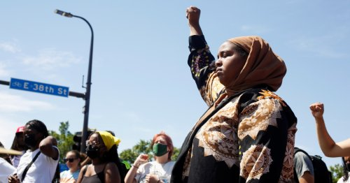Activists 'hold space' as Minneapolis reopens George Floyd Square