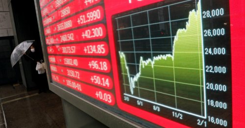 Global shares jump on hopes that US interest rates will stay low