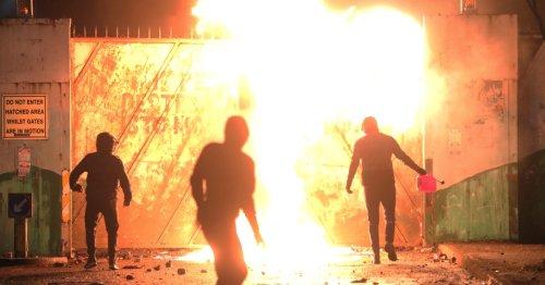 Irish PM warns against 'spiral' in Northern Ireland violence