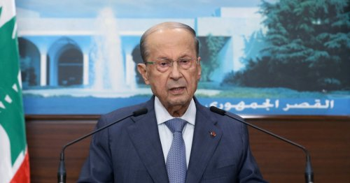 Lebanon's President Aoun rejects draft electoral law