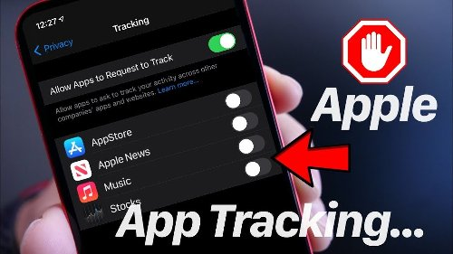 Stop Apple From Tracking You Across Apple Apps – iOS 14.5 App Tracking