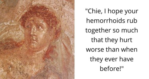 The 2,000-Year-Old Graffiti Found At Pompeii Is Downright Crude And Absolutely Hilarious