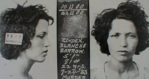 The Little-Known Story Of Blanche Barrow, Bonnie And Clyde's Anxious Accomplice