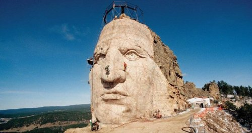 The Long History Of The Crazy Horse Memorial, The Unfinished Monument To The Sioux War Hero