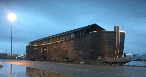 A Giant Noah's Ark Replica Is Stranded In The UK After British Officials Refuse To Let It Sail