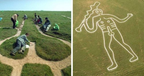 Researchers Have Finally Solved The Mystery Of This Massive Phallic Drawing Carved Into An English Hillside