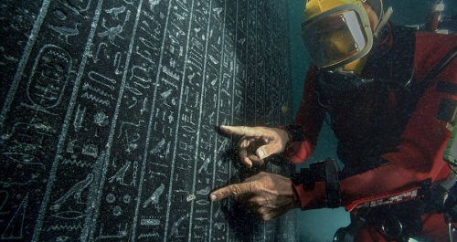 Underwater Archaeologists Just Discovered A 2,200-Year-Old Military Shipwreck In Ancient Egypt's Long-Lost Sunken City