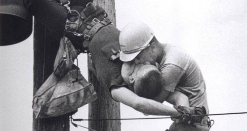 The Incredible Story Behind The Iconic 'Kiss Of Life' Photo