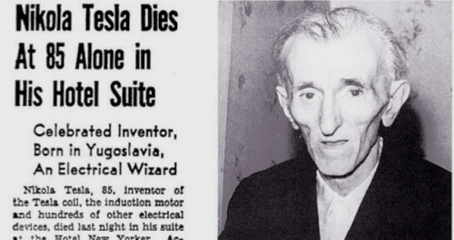 Inside The Sad, Lonely Death Of Iconic Inventor Nikola Tesla