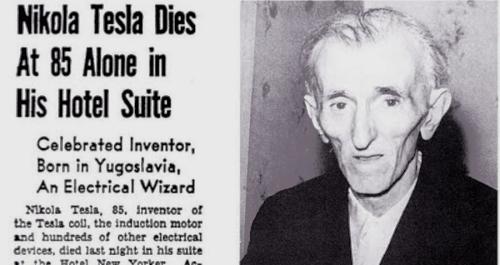 Inside The Sad, Lonely Death Of Iconic Inventor Nikola Tesla