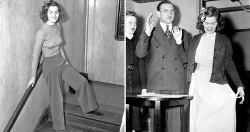 The True Story Of The Woman Who Was Jailed For Wearing Pants To Court In 1938