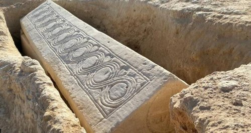 'Spectacular And Unexpected' 1,500-Year-Old Visigoth Sarcophagus Unearthed In Spain