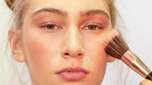 How to Wear Blush If You Have Rosacea