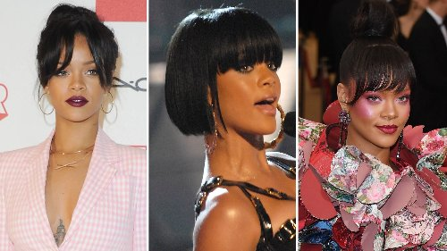 An Ode to Rihanna's Bangs