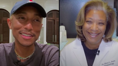 Pharrell and His Dermatologist Answer Your Common Skin-Care Questions
