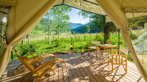 The 7 Best Glamping Spots for Fall
