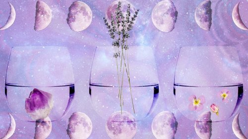 How to Make Moon Water and Use It In Your Beauty Routine