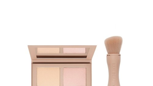 KKW Beauty Powder Contour & Highlight Airbrushes My Skin | Review | Allure