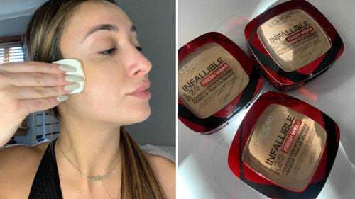 I Tried the New L'Oréal Paris Infallible Powder Foundation That Went Viral on TikTok