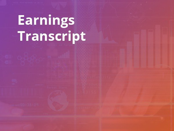 Earnings Transcripts - cover