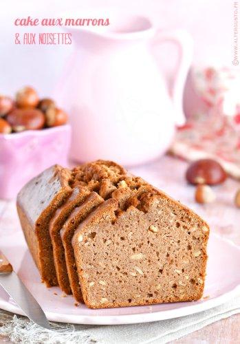 Cake aux marrons & noisettes -