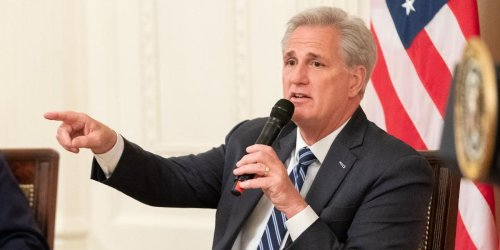 Kevin McCarthy mocked for saying he 'embraces free thought' as Liz Cheney is punished for speaking out