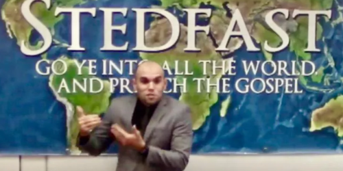 Preacher who suggests he is acting like Christ laments government isn't executing LGBTQ people