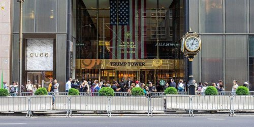 Trump Tower put on debt 'watch list' after occupancy plunged this year: report