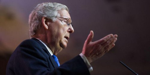 Mitch McConnell is coming close to declaring victory on stopping 100 percent of Biden's agenda